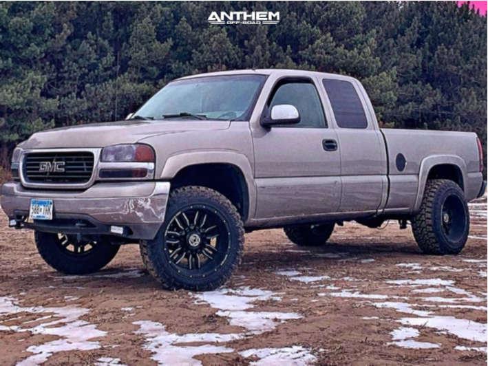 2002 gmc sierra 1500 anthem wheels fury country hunter mt tires