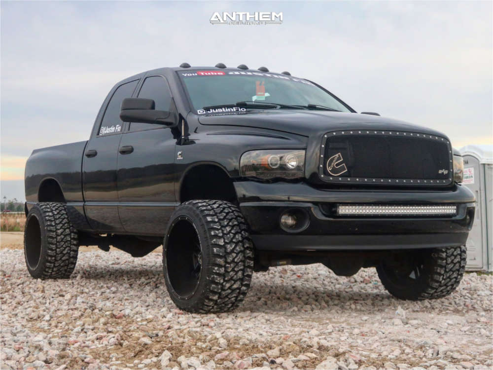 2005 dodge ram 2500 anthem offroad wheels fury country hunter mt tires