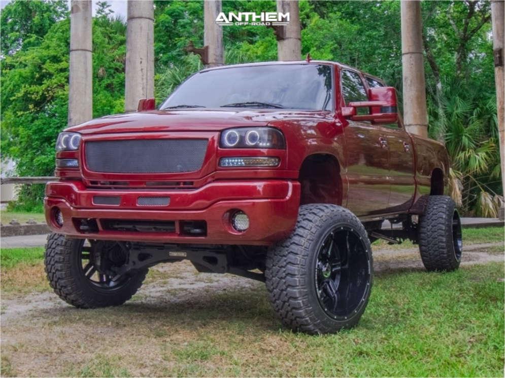 2006 gmc sierra 2500 anthem wheels fury country hunter mt tires