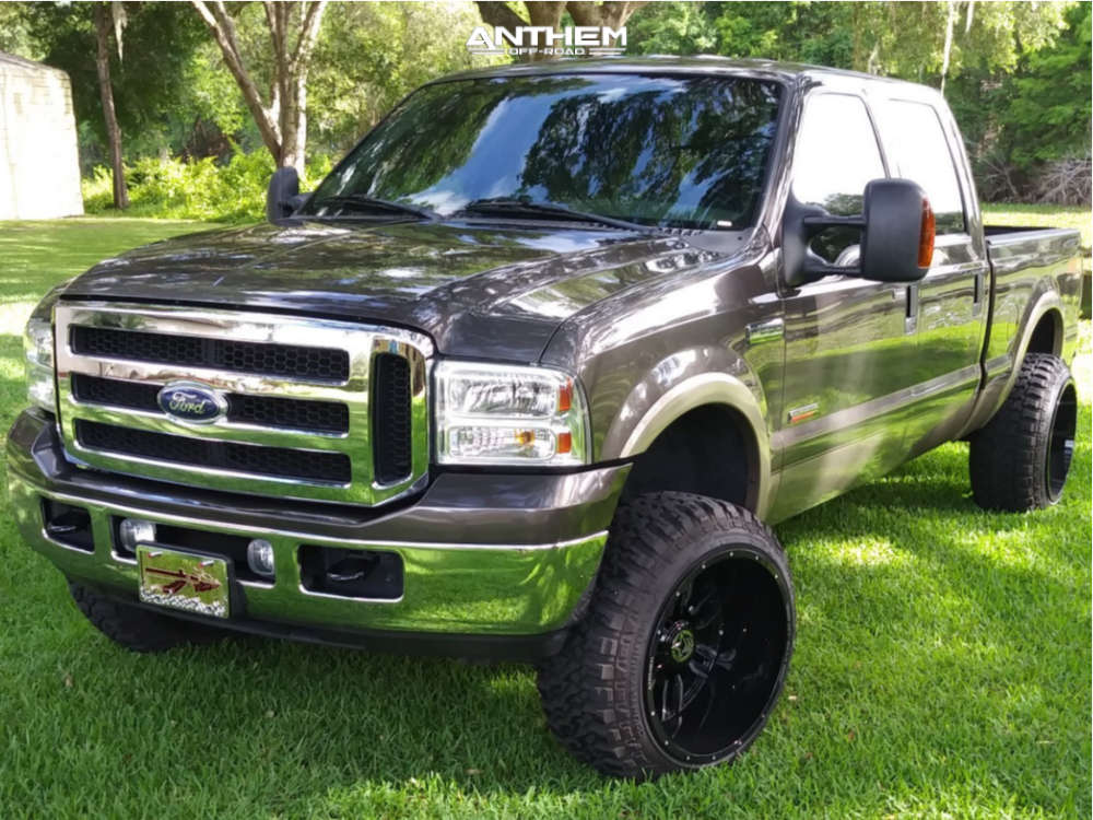 2007 ford f250 super duty anthem wheels fury country hunter mt tires