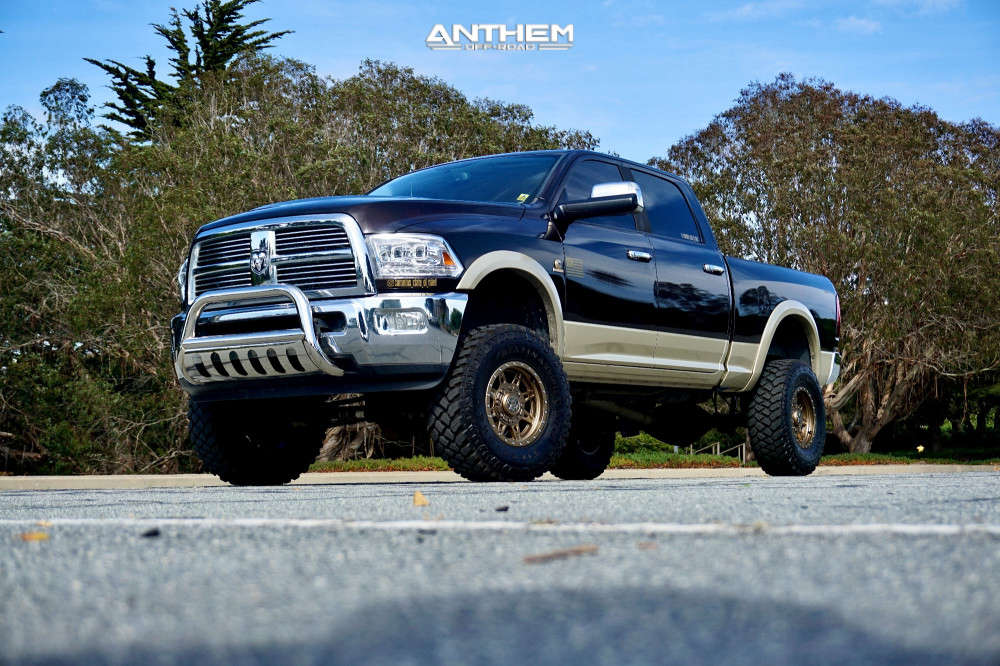 2011 ram 2500 anthem off-road rogue wheels rough country suspension