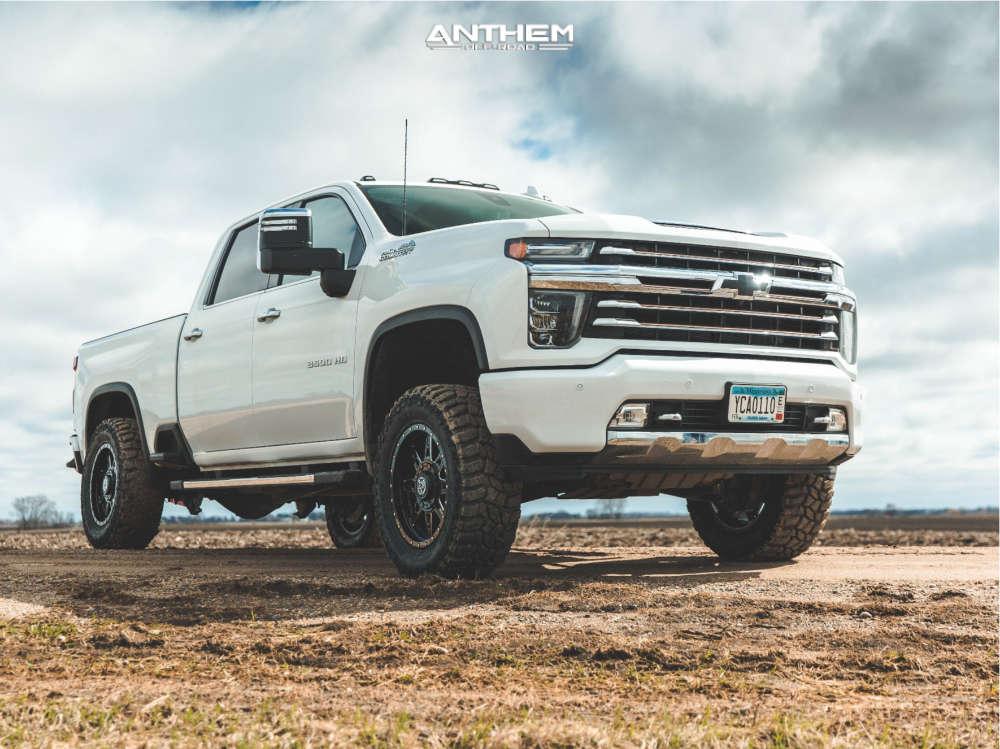 2021 chevy silverado 3500 anthem off-road rogue wheels