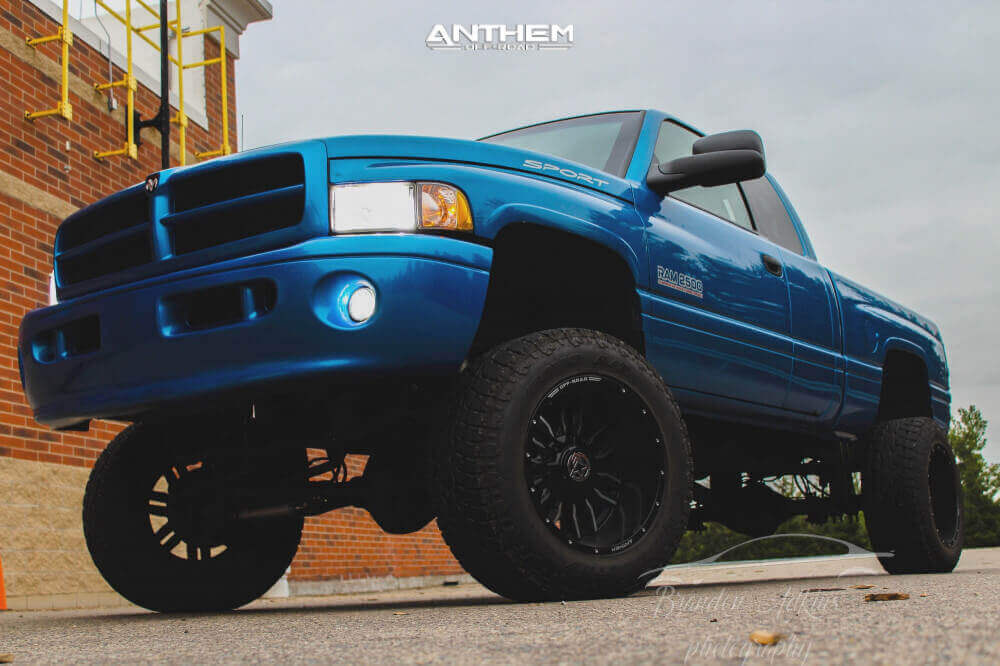 Anthem Wheels Ram with all season tires