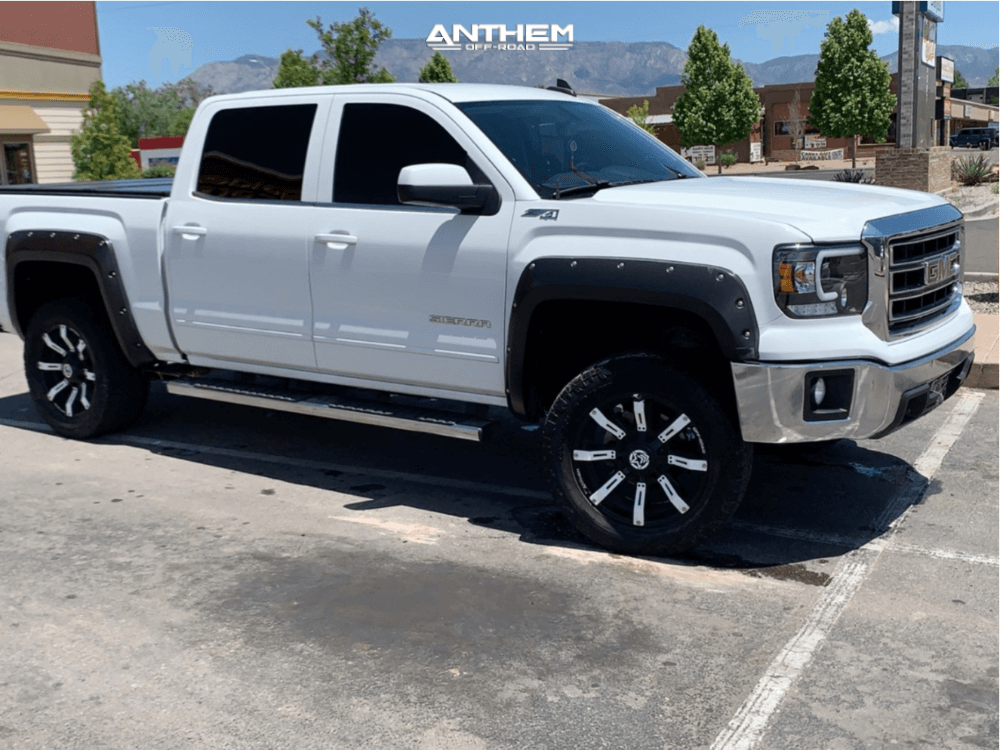 2015 GMC Sierra 1500 Anthem Off-Road Defender wheels Toyo Tires Open Country AT III Tires